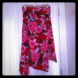 Zara floral skirt